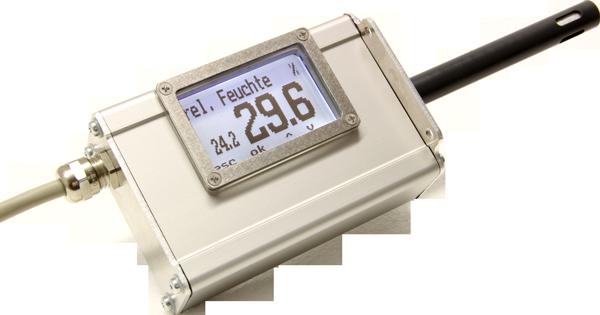 Transmisores de humidad de aire LF | Medición de la humidad ambiental / Medición de la temperatura del aire