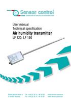 Download Transmisores de humidad de aire LF | Medición de la humidad ambiental / Medición de la temperatura del aire